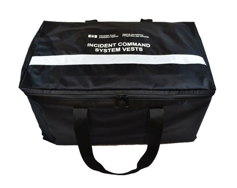 IMS ICS EOC Vest Gear Bag Front | Emergency and Incident Management