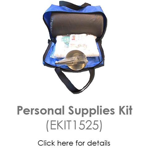 personal supplies kit