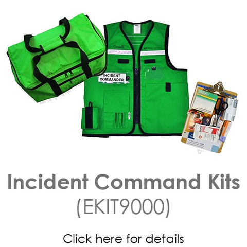 Incident Command Kits (EKIT9000)