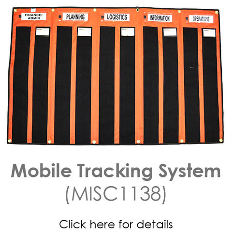 Incident Command mobile tracking system