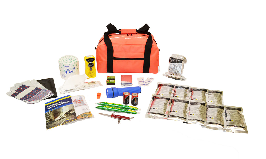 1 Person | Essential 72 Hour Emergency Survival Kit | Emergency Preparedness