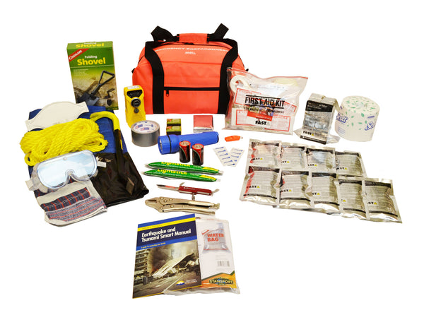 1 Person | Premium 72 Hour Emergency Survival Rescue First Aid Kit | Emergency Preparedness