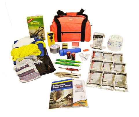 1 Person | Deluxe 72 Hour Emergency Survival Rescue Kit | Emergency Preparedness