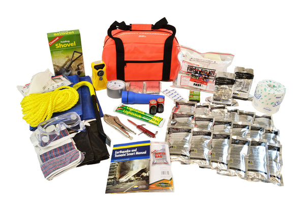 2 Person | Premium 72 Hour Emergency Survival Rescue First Aid Kit | Emergency Preparedness