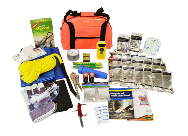 2 Person | Deluxe 72 Hour Emergency Survival Rescue Kit | Emergency Preparedness