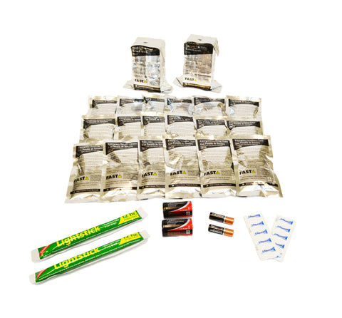 2 Person | 72 Hour Emergency Survival Replacement Supplies Kit | Emergency Preparedness