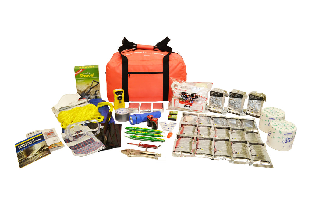 3 Person | Premium 72 Hour Emergency Survival Rescue First Aid Kit | Emergency Preparedness