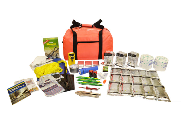 3 Person | Deluxe 72 Hour Emergency Survival Rescue Kit | Emergency Preparedness