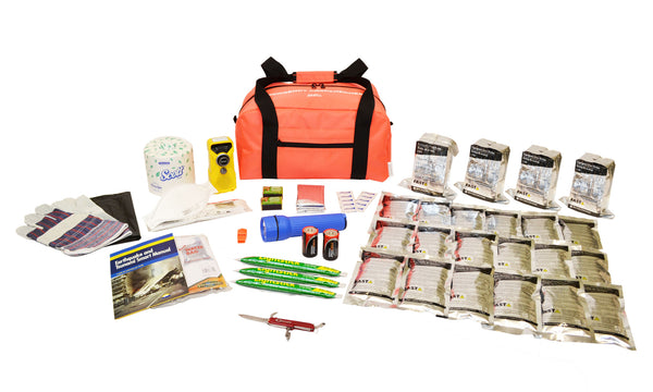 4 Person | Essential 72 Hour Emergency Survival Kit | Emergency Preparedness