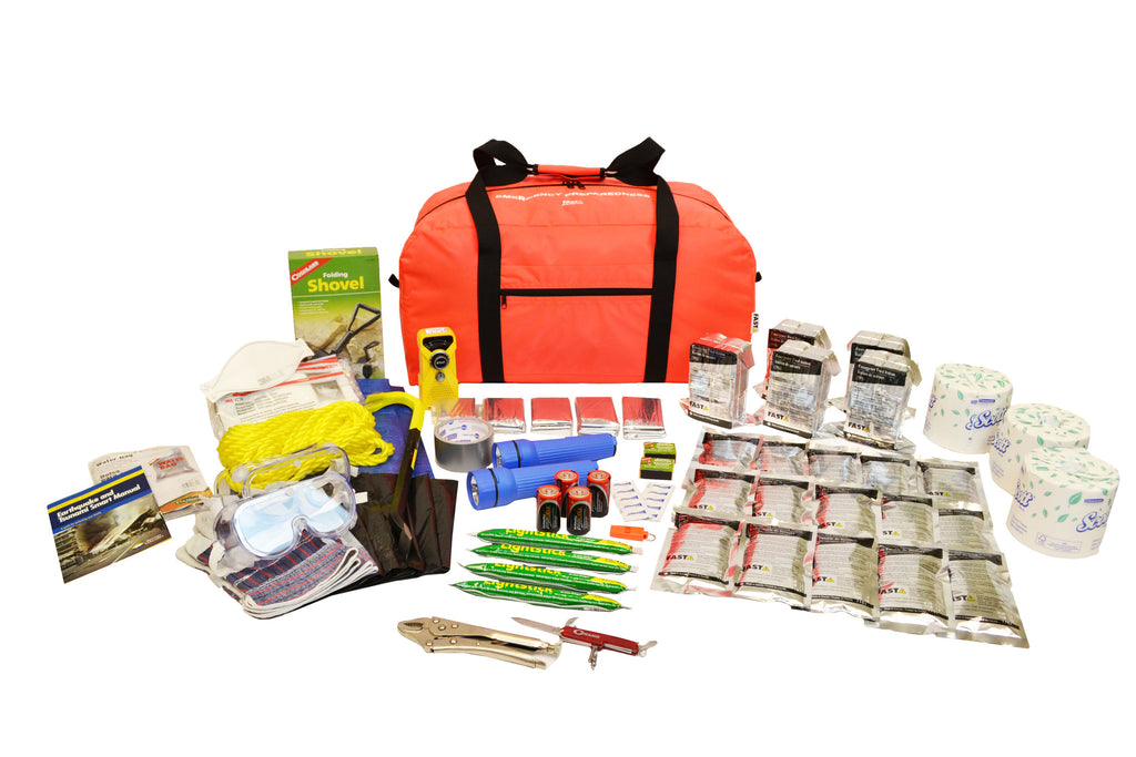 5 Person | Deluxe 72 Hour Emergency Survival Rescue Kit | Emergency Preparedness