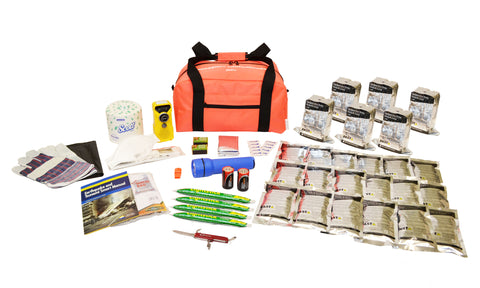 6 Person | Essential 72 Hour Emergency Survival Kit | Emergency Preparedness