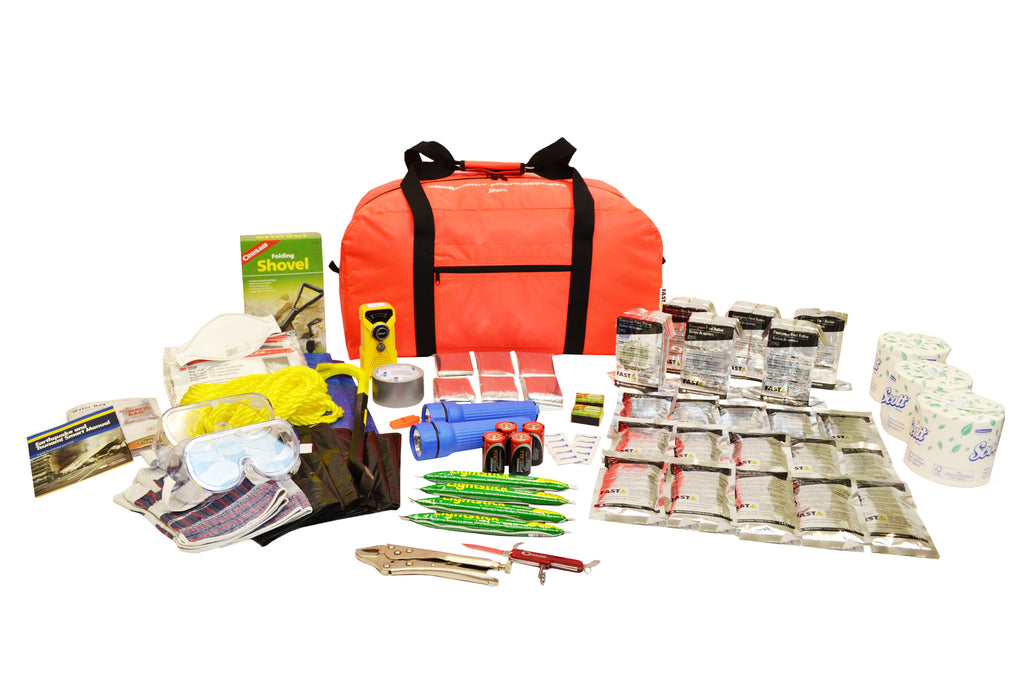 6 Person | Deluxe 72 Hour Emergency Survival Rescue Kit | Emergency Preparedness