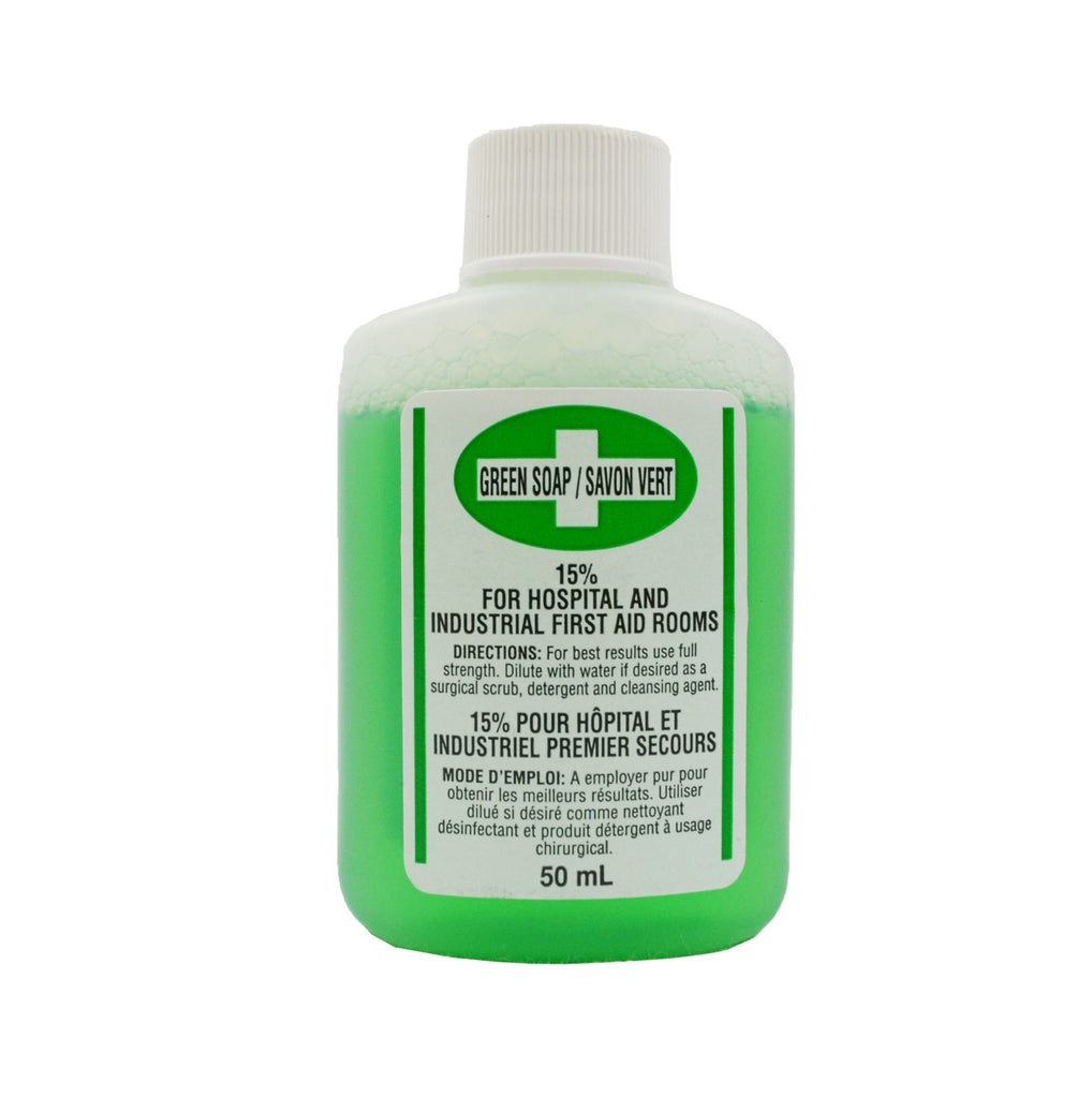 Liquid Antibacterial Green Soap (50ml)