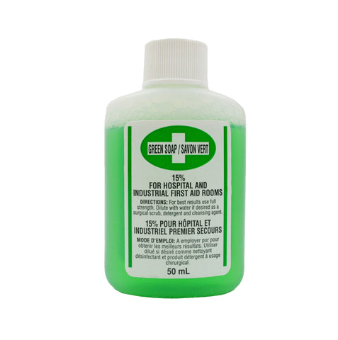 ANTI1090 - Liquid Antibacterial Green Soap (50ml)
