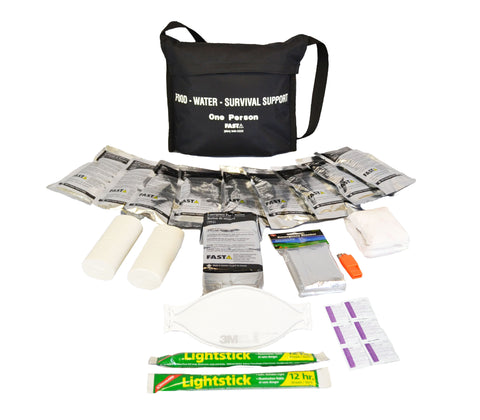 1 Person | Basic 72 Hour Emergency Survival Kit | Emergency Preparedness