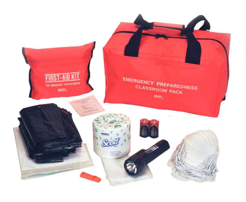 Classroom Emergency Preparedness and First Aid Kit
