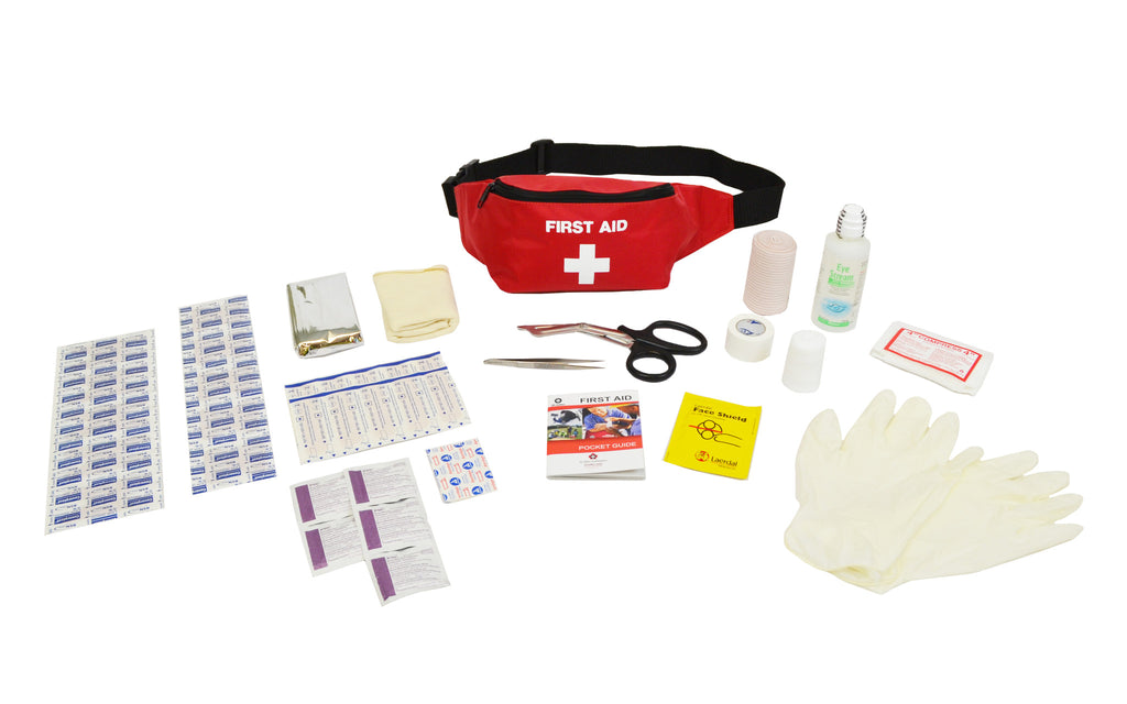 First Aid Fanny Pack Kit | Emergency Preparedness