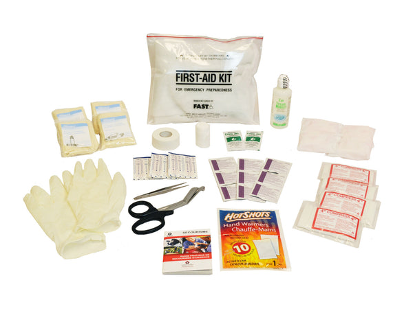 6 Person | Premium 72 Hour Emergency Survival Rescue First Aid Kit | Emergency Preparedness | First Aid Kit