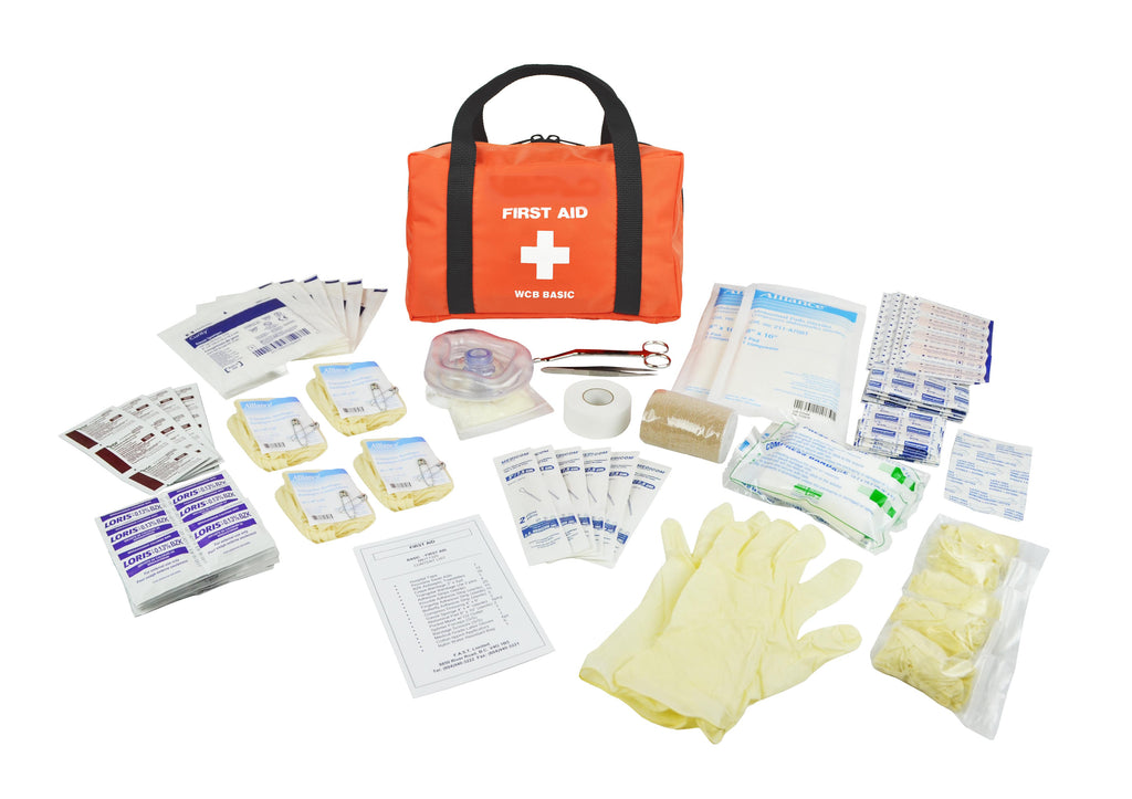 WorkSafeBC Occupational First Aid Kit - BASIC