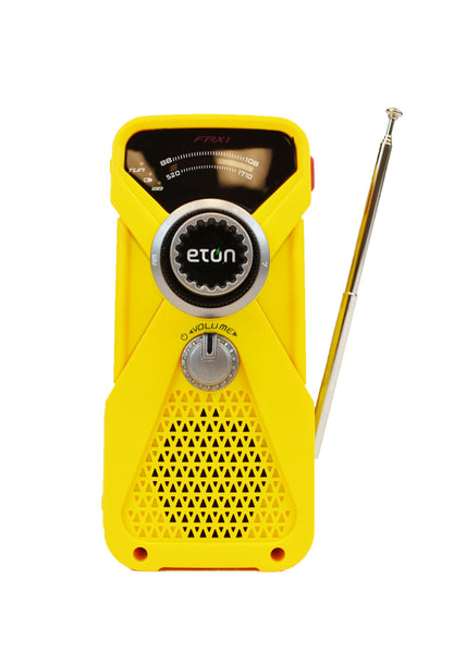 1 Person | Deluxe 72 Hour Emergency Survival Rescue Kit | Emergency Preparedness | Etón FRX1 AM/FM Radio & Flashlight