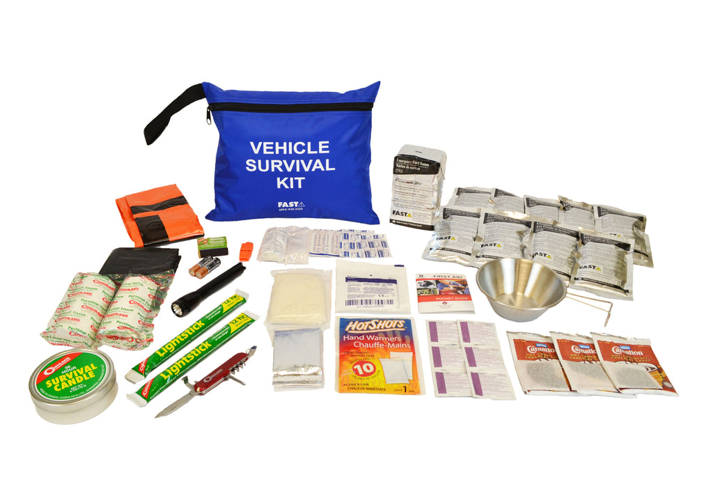 Car or Vehicle 72 Hour Emergency Survival Kit