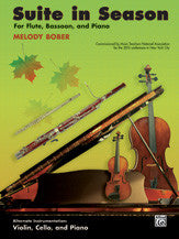 Bober, Melody % Suite in Season-FL/BSN/PN