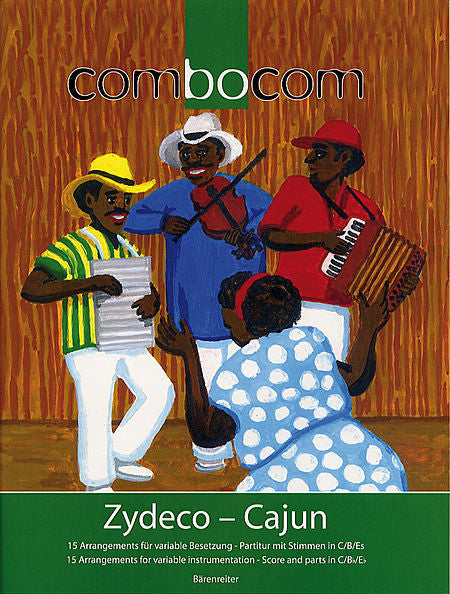Collection % Zydeco-Cajun-OB/CL/BSN (see more info)