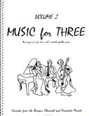 Collection % Music for Three, vol. 2, part 3 (cello/bassoon) - FLEXTRIO