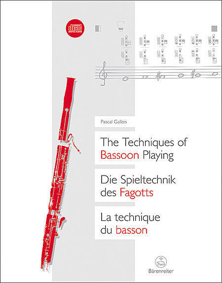 Gallois, Pascal % Techniques of Bassoon Playing - BOOK
