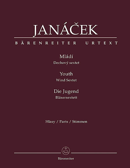 Janacek % Mladi/Youth (Parts Only)-WW5+BCL