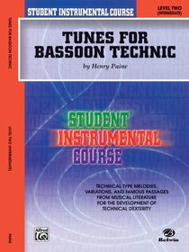 Paine, Henry % Tunes for Bassoon Technic Level 2-BSN