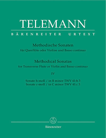 Telemann, Georg Philipp % 12 METHODICAL SONATAS (b,c)V4-OB/PN