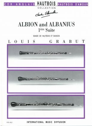 Grabut, Louis % Albion and Albanius (Score & Parts)-DR CHOIR
