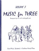 Collection % Music for Three, vol. 3, part 1 (flute/oboe/violin) - FLEXTRIO