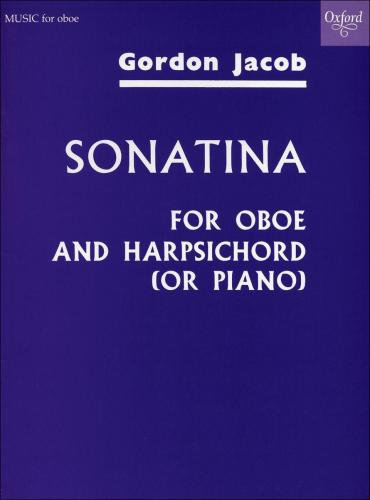 Jacob, Gordon % Sonatina-OB/PN or OB?HARPSICHORD