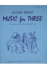 Collection % Music for Three, Klezmer, complete set of 7 parts - FLEXTRIO