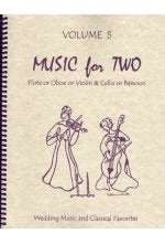 Collection % Music for Two, vol. 5 - FL/BSN or OB/BSN or VLN/BSN
