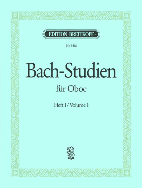 Bach, J.S. % Bach-Studies for Oboe Book 1-OB
