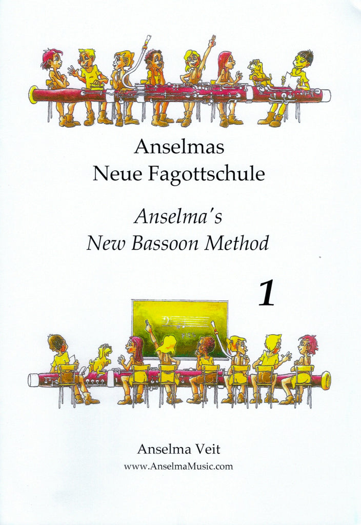 Veit, Anselma % Anselma's New Bassoon Method V1-BSN METHOD