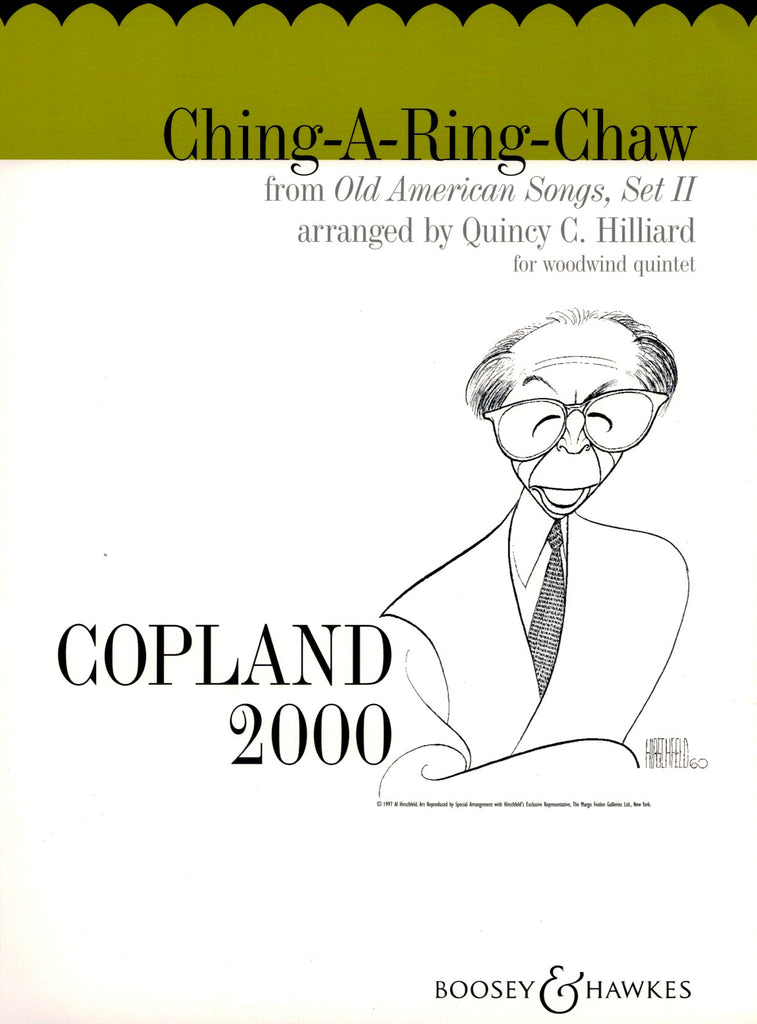 Copland, Aaron % Ching-a-Ring-Chaw (Score & Parts)-WW5