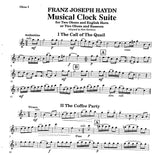 Haydn, Franz Joseph % Musical Clock Suite (Score & Parts)-2OB/EH or 2OB/BSN