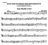 Misc % Five Pieces from the Renaissance (Score & Parts)-2OB/2BSN or 2OB/EH/BSN