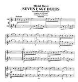 Blavet, Michel % 7 Easy Duets (Performance Score)-OB/EH