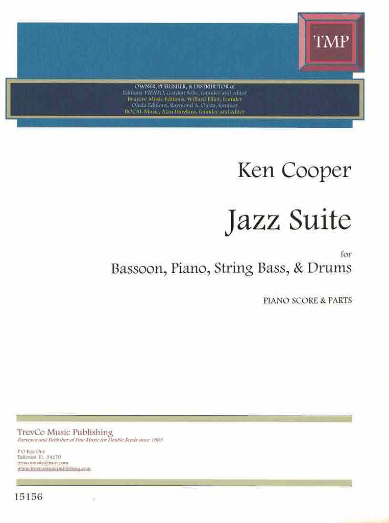 Cooper, Ken % Jazz Suite-BSN/PN/KB/DRUMS