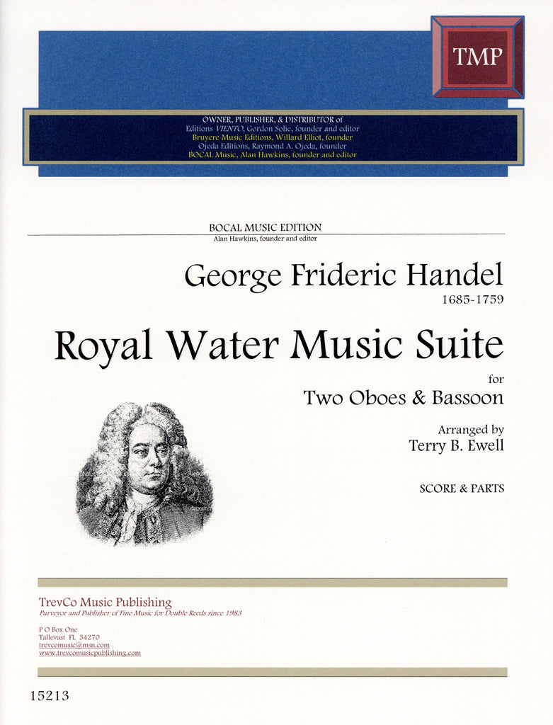 Handel, Georg Friedrich % Royal Water Music Suite (score & parts)-2OB/BSN