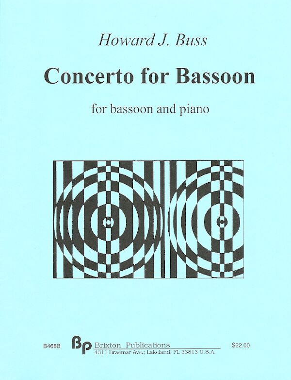 Buss, Howard % Concerto for Bassoon-BSN/PN