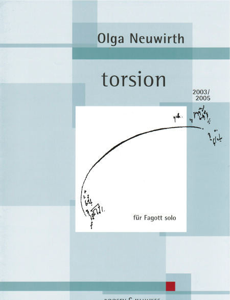 Neuwirth, Olga % Torsion (Bassoon Part Only)-BSN/Pre-Recorded Electronics