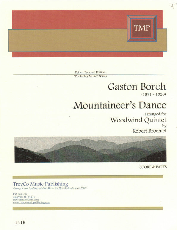 Borch % Mountaineer's Dance (Score & Parts) (Broemel)-WW5