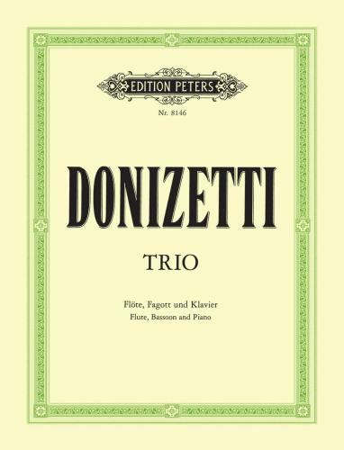 Donizetti, Gaetano % Trio in F Major-FL/BSN/PN