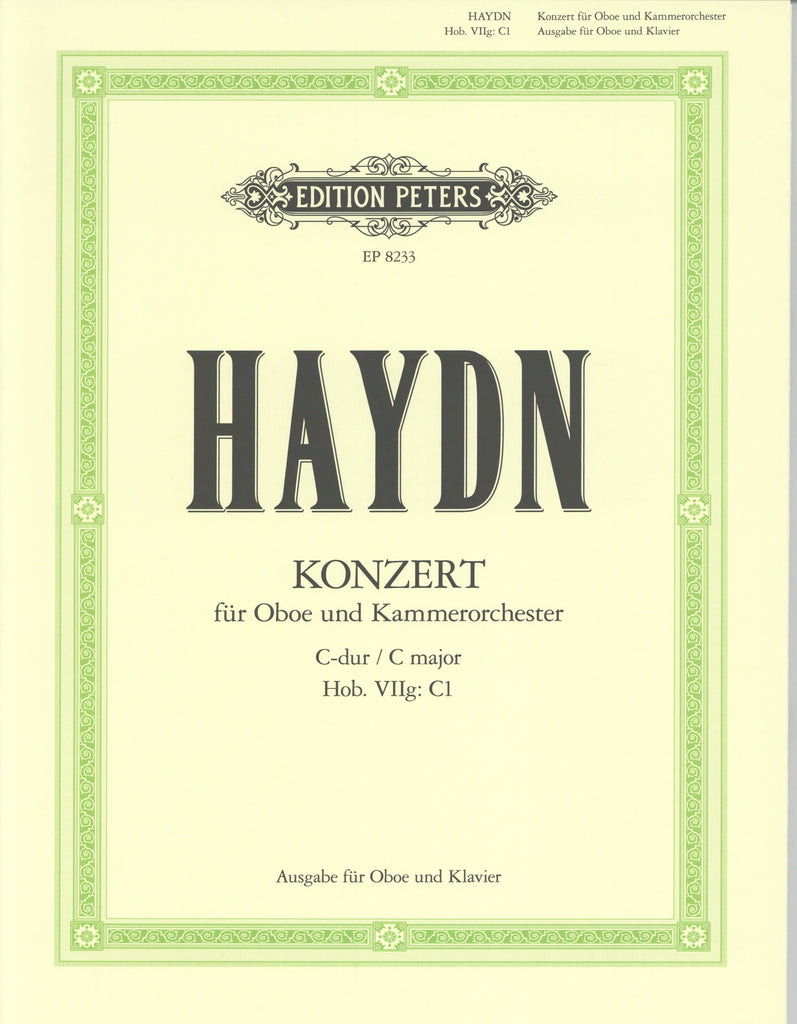 Haydn, Franz Joseph % Concerto in C Major-OB/PN